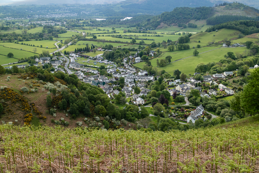 Looking down on Braithwaite