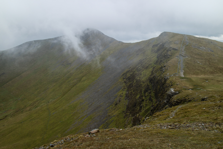 ...and again from the path up Hopegill Head