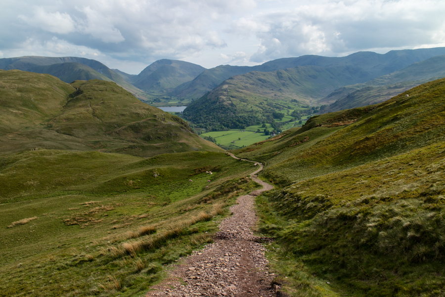 Down to Boredale Hause