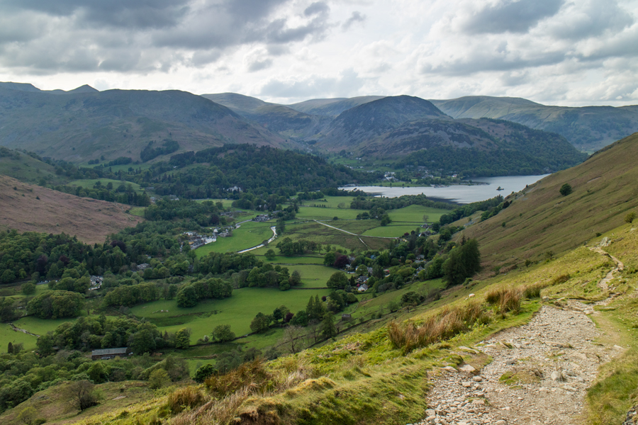 ...and from Boredale Hause back down to Patterdale