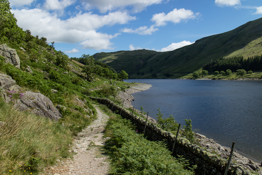 Heading for The Rigg