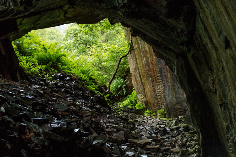 Under Castle Crag