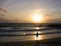 Sunset, Halaman Bay (21 Jun 2003)