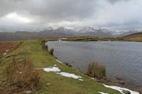 Alcock Tarn's dam (2 Feb 2014)