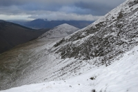 Outerside from my descent from Sail Pass (4 Feb 2014)