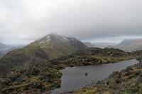 Haystacks summit tarn and Gamlin End (High Crag) (9 Feb 2014)