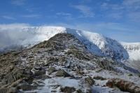 Rough Crag with High Street behind (10 Feb 2014)