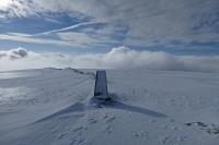 High Street's summit (10 Feb 2014)