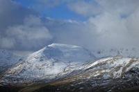 St Sunday Crag from Angletarn Pikes (16 Feb 2014)