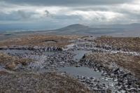 Great Mell Fell from Scales Fell on Blencathra (2 Mar 2014)