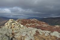 Great Crag's summit (9 Mar 2014)
