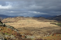 Grange Fell from Great Crag (9 Mar 2014)