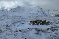 St Sunday Crag from Birks summit (23 Mar 2014)