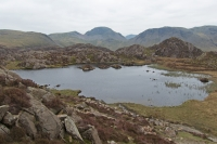 Looking over Innominate Tarn to Great Gable (3 May 2014)