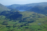 High Rigg and Tewet Tarn with Thirlmere beyond from Blencathra (12 Jun 2014)