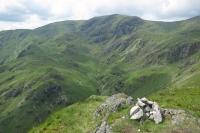 Dove Crag from Hartsop Above How's summit (14 Jun 2014)
