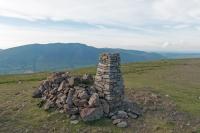 Clough Head summit trig point (18 Jun 2014)
