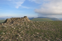 The shelter at Great Dodd's summit (18 Jun 2014)