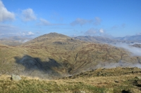 Pike O'Blisco from Wet Side Edge (12 Oct 2014)