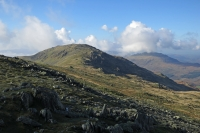 Looking across to Grey Friar from near Hell Gill Pike (12 Oct 2014)