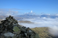 Great Carrs summit cairn (12 Oct 2014)