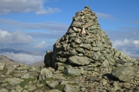 Swirl How's large summit cairn (12 Oct 2014)