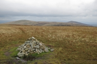 High Pike and Carrock Fell from Great Sca Fell's summit (14 Oct 2014)