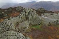 Brund Fell, Grange Fell's summit (1 Nov 2014)