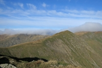 Froswick from high up Ill Bell's north-east ridge (4 Nov 2014)