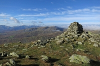 Red Screes from Ill Bell's summit (4 Nov 2014)