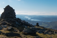 Windermere from Ill Bell's summit (4 Nov 2014)