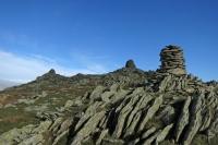 Ill Bell's three summit cairns (4 Nov 2014)