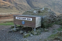 Sty Head stretcher box (18 Nov 2014)