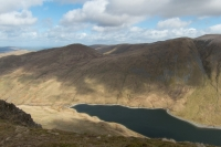 Hayeswater from Gray Crag (11 Apr 2015)